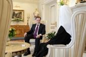 Предстоятель Русской Православной Церкви встретился с министром культуры России В.Р. Мединским