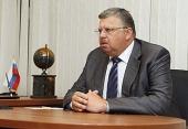 Патриаршее поздравление руководителю Федеральной таможенной службы России А.Ю. Бельянинову с 55-летием со дня рождения