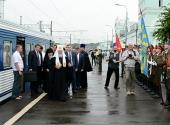 Святейший Патриарх Кирилл прибыл в Смоленск