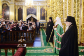 Слово Святейшего Патриарха Кирилла после всенощного бдения в Свято-Успенском кафедральном соборе Смоленска