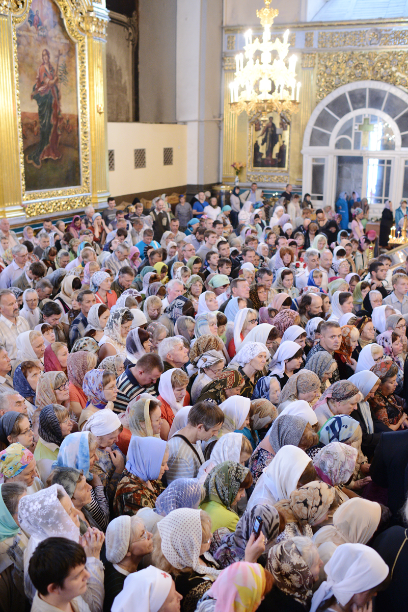 Всенощное бдение в Успенском кафедральном соборе г. Смоленска