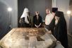 Святейший Патриарх Московский и всея Руси Кирилл в Успенском кафедральном соборе г. Смоленска после всенощного бдения