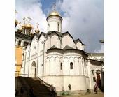 В праздник Положения честнóй ризы Пресвятой Богородицы во Влахерне митрополит Ювеналий совершил Литургию в храме Ризоположения Московского Кремля
