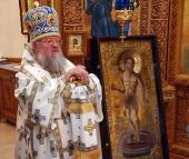 Обнаруженный недавно чудотворный Малочернетчинский образ Спасителя «Хлеб Жизни» передан Церкви