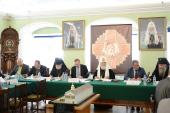 Святейший Патриарх Кирилл возглавил заседание Попечительского совета Свято-Троицкой Сергиевой лавры и Московской духовной академии