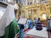 Слово Святейшего Патриарха Кирилла при вручении архиерейского жезла Преосвященному Савватию (Загребельному), епископу Тарскому и Тюкалинскому