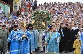 В дни торжеств в честь явления Казанской иконы Божией Матери православные верующие Татарстана молились о сохранении спокойствия в республике