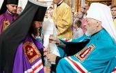 Митрополит Киевский Владимир возглавил хиротонию архимандрита Романа (Кимовича) во епископа Конотопского и Глуховского