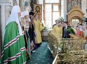 Слово Святейшего Патриарха Кирилла после Божественной литургии в храме Преображения Господня в Тушине