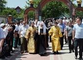Святейший Патриарх Кирилл прибыл в Крымск