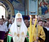 Слово Святейшего Патриарха Кирилла в храме Архангела Михаила в Крымске