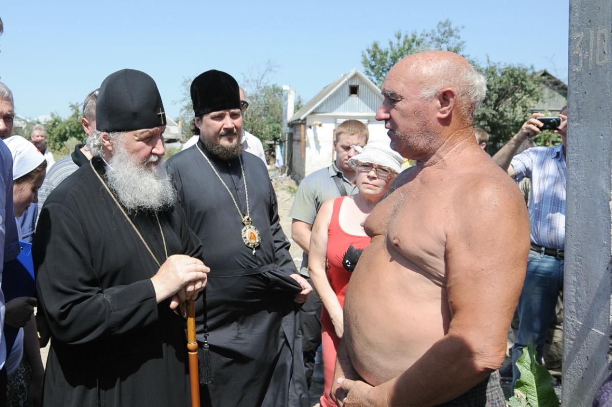 Посещение Святейшим Патриархом Кириллом г. Крымска