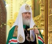 Слово Святейшего Патриарха Кирилла в праздник Казанской иконы Божией Матери в Богоявленском кафедральном соборе