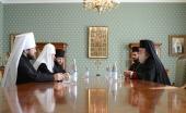 Блаженнейший Патриарх Александрийский Феодор II прибыл в Россию