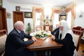Состоялась встреча Святейшего Патриарха Кирилла с премьер-министром Украины Н.Я. Азаровым