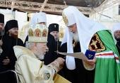 Святейший Патриарх Кирилл: Сегодняшнее богослужение свидетельствует о правильности того выбора, который был сделан 20 лет назад в Харькове