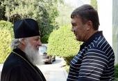 Святейший Патриарх Кирилл встретился с Президентом Украины В.Ф. Януковичем