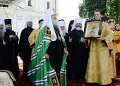 Слово Святейшего Патриарха Кирилла на Соборной площади Киево-Печерской лавры в день памяти святого равноапостольного князя Владимира