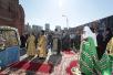 Чин освящения закладного камня в основание храма Иверской иконы Божией Матери, возводимого у стен Академии ФСБ России
