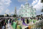 Слово Святейшего Патриарха Кирилла при вручении архиерейского жезла Преосвященному Питириму (Творогову), епископу Душанбинскому и Таджикистанскому