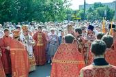 Епископ Бронницкий Игнатий возглавил торжества по случаю престольного праздника Илиинского храма в Черкизове