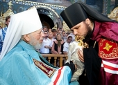 Митрополит Киевский Владимир возглавил хиротонию архимандрита Ефрема (Яринко) во епископа Бердянского и Приморского
