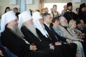 Предстоятель Русской Церкви возглавил торжественный акт, посвященный открытию нового комплекса зданий Коломенской духовной семинарии