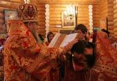 Игумен Серафим (Домнин), избранный епископом Кузнецким и Никольским, возведен в сан архимандрита