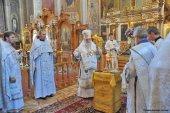 В 40-й день наводнения на Кубани в храмах Екатеринодарской епархии прошли заупокойные богослужения