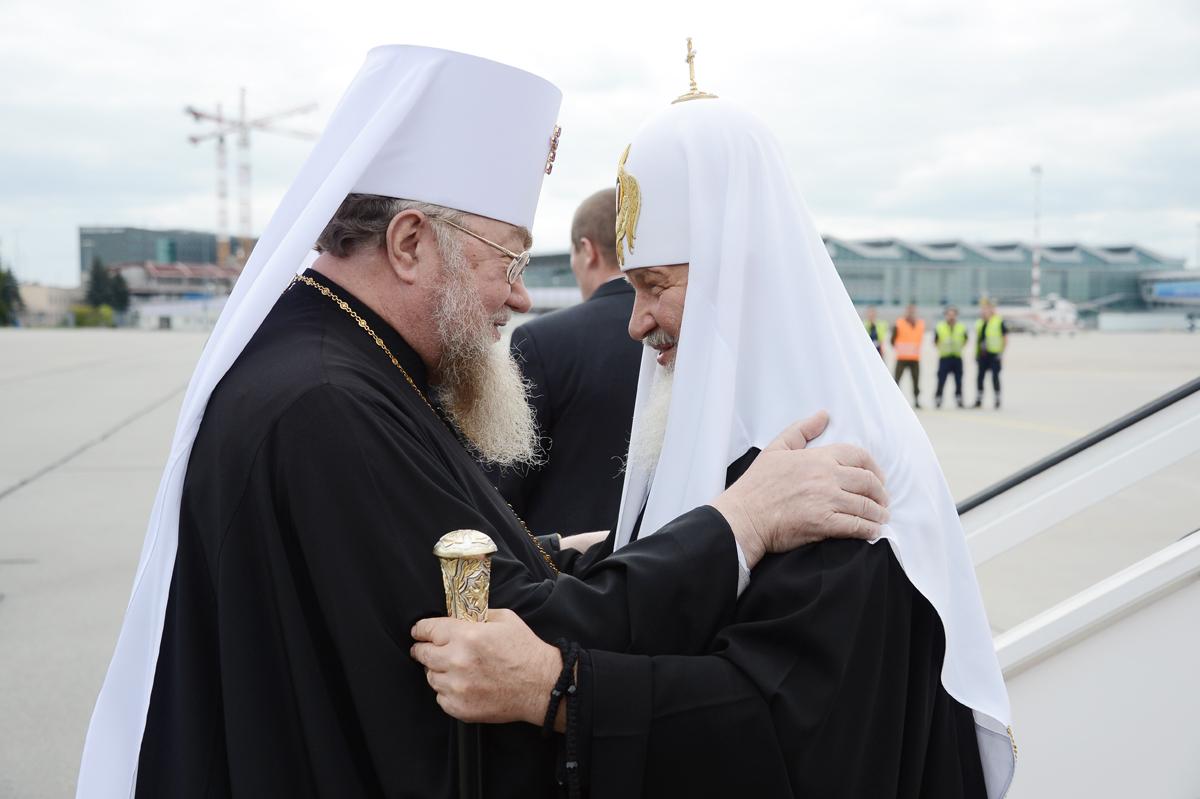 Визит Святейшего Патриарха Кирилла в Польшу. Прибытие в Варшаву