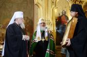 Святейший Патриарх Кирилл совершил молебен в варшавском кафедральном соборе Марии Магдалины