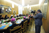 Визит Святейшего Патриарха Кирилла в Польшу. Встреча с членами Президиума Президиума Польской католической епископской конференции