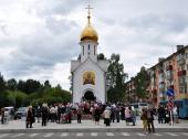 Освящена часовня в память о погибших горняках на шахте «Распадская»
