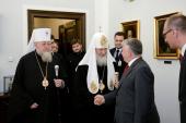 Состоялась встреча Предстоятеля Русской Церкви с Маршалом Сената Польши Богданом Борусевичем