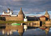 Святейший Патриарх Кирилл провел рабочую встречу по вопросам восстановления Соловецкого монастыря