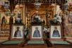 Патриаршее служение в день памяти преподобных Зосимы, Савватия и Германа Соловецких в Преображенском соборе Соловецкого монастыря. Хиротония архимандрита Иннокентия (Ветрова) во епископа Мариинского