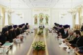 Под председательством Святейшего Патриарха Кирилла состоялось заседание комиссии по проведению общецерковных торжеств в честь 200-летия победы в Отечественной войне 1812 года