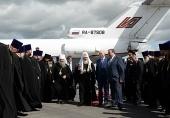 Святейший Патриарх Кирилл прибыл в Саранск