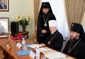 Состоялось расширенное заседание Священного Синода Украинской Православной Церкви