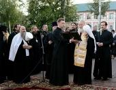 Святейший Патриарх Кирилл освятил новое здание Мордовской митрополии