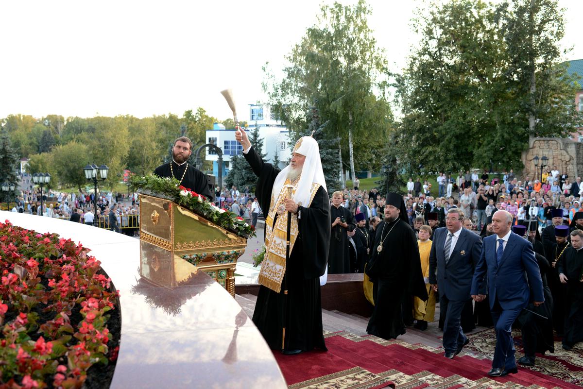 Первосвятительский визит в Мордовию. Освящение нового здания Мордовской митрополии