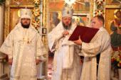 Епископ Мариинский и Юргинский Иннокентий прибыл к месту служения