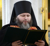 Слово архимандрита Вениамина (Королева) при наречении во епископа Железногорского и Льговского
