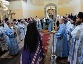 Слово Святейшего Патриарха Кирилла при вручении архиерейского жезла Преосвященному Вениамину (Королеву), епископу Железногорскому и Льговскому