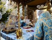 В день празднования в честь Донской иконы Божией Матери Предстоятель Русской Церкви совершил Литургию в Донском монастыре и возглавил хиротонию архимандрита Вениамина (Королева) во епископа Железногорского и Льговского