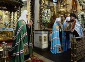 Слово Святейшего Патриарха Кирилла в праздник Донской иконы Божией Матери в Донском ставропигиальном монастыре