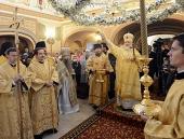 Святейший Патриарх Кирилл освятил храм при Федеральном научно-клиническом центре детской гематологии, онкологии и иммунологии в Москве