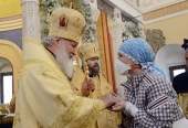 Слово Святейшего Патриарха Кирилла после освящения храма при Федеральном научно-клиническом центре детской гематологии в Москве