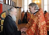 Протоиерей Владимир Вигилянский назначен новым настоятелем домового храма МГУ