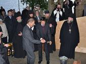 В Нило-Столобенской пустыни почтили память польских полицейских — узников Осташковского лагеря НКВД
